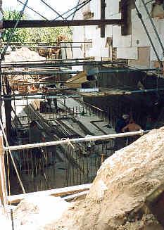 Po usunięciu starego budynku